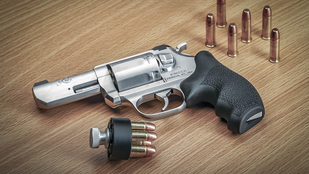 Hogue releases its rubber grip for the Kimber K6s revolver.