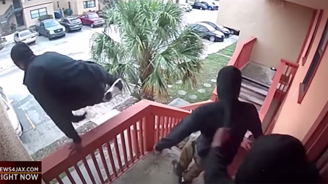A Florida homeowner took on three armed home intruders recently, shooting one.