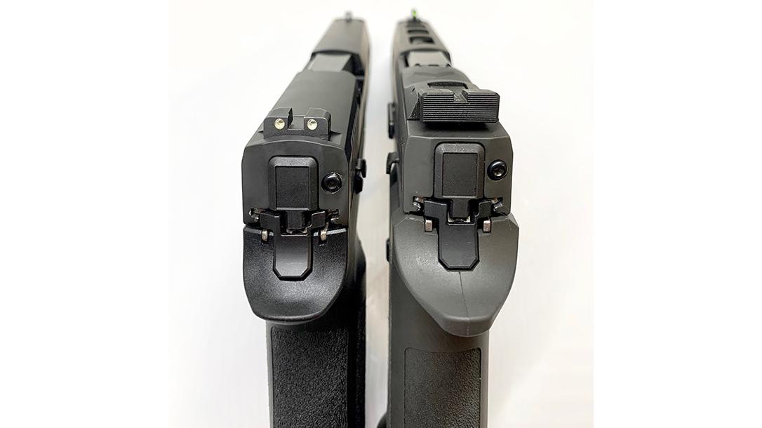 WCP320 vs P320 X5 Legion, sights