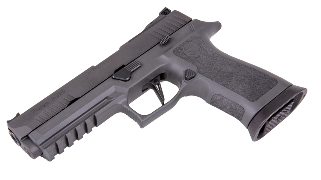 The SIG XFive Legion built to be accurate and go fast.