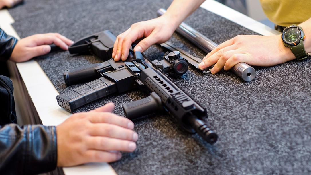 Crime Down Coronavirus, gun sales up, texas private Firearms sales