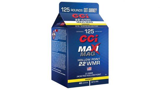 New CCI cartons provide 125 rounds of rimfire fun.