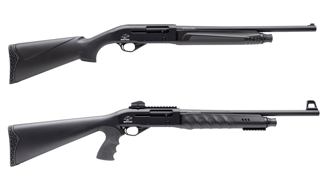With Picatinny rails, 20-inch barrels and the choice between 12 and 20 gauge, or a pistol grip design, the Citadel Warthog brings value to home defense.
