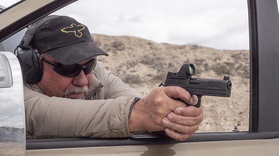 Best Red Dot Sight, The increased field of view in the Trijicon SRO makes if formidable.