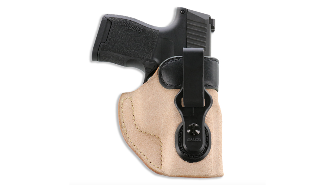 The Galco Scout 3.0 features an ambi design and two different belt clips.