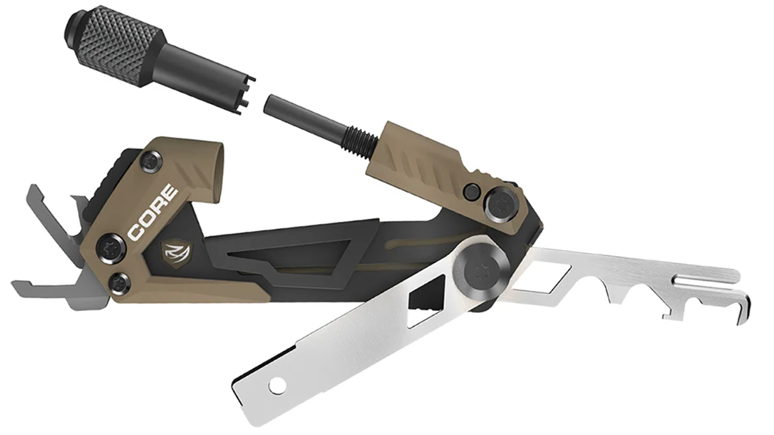 The Real Avid Gun Tool Core AR15 provides six different tools for the AR rifle.