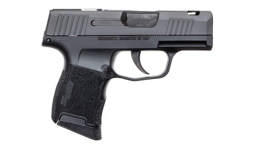 The pint-sized SIG Sauer P365 SAS packs plenty of punch.