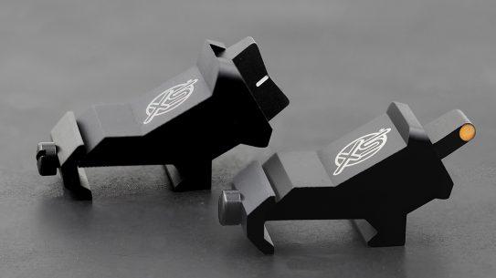 The XS Sights XTI DXS sights provide a fast, 45-degree system.