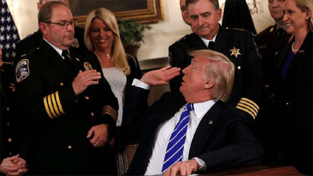 Chuck Canterbury, Donald Trump, ATF Director Nomination
