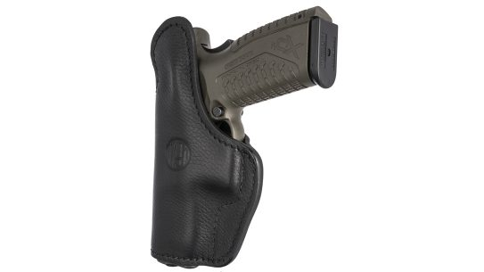 The Ultra Custom Multi-Fit enables shooters to fit the holster to a specific gun.