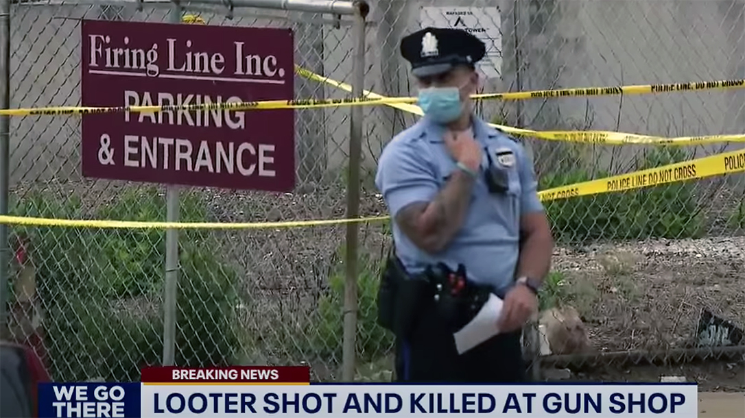 A Philly Gun Store Owner shot and killed a looter.