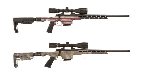 The versatile Howa EXCL Lite comes with three different stock options.