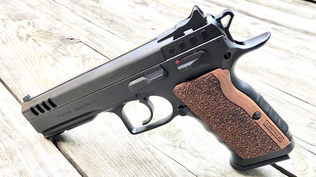 The IFG Defiant Stock I impressed during range sessions.