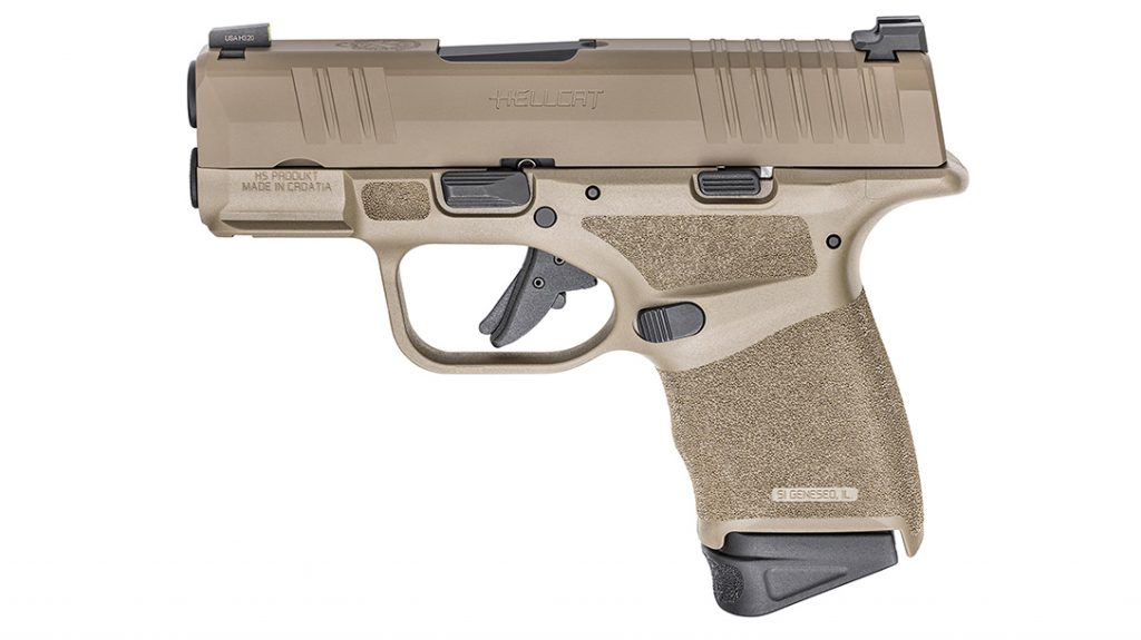 The wildly popular Hellcat now comes in FDE finish.