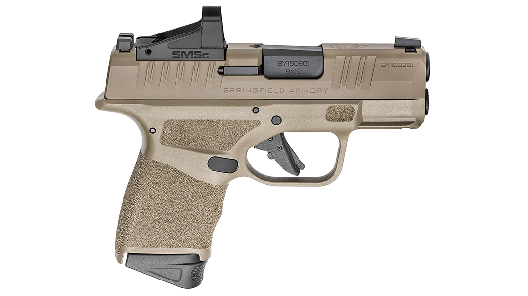 The Hellcat in OSP allows the attachment of a reflex sight.