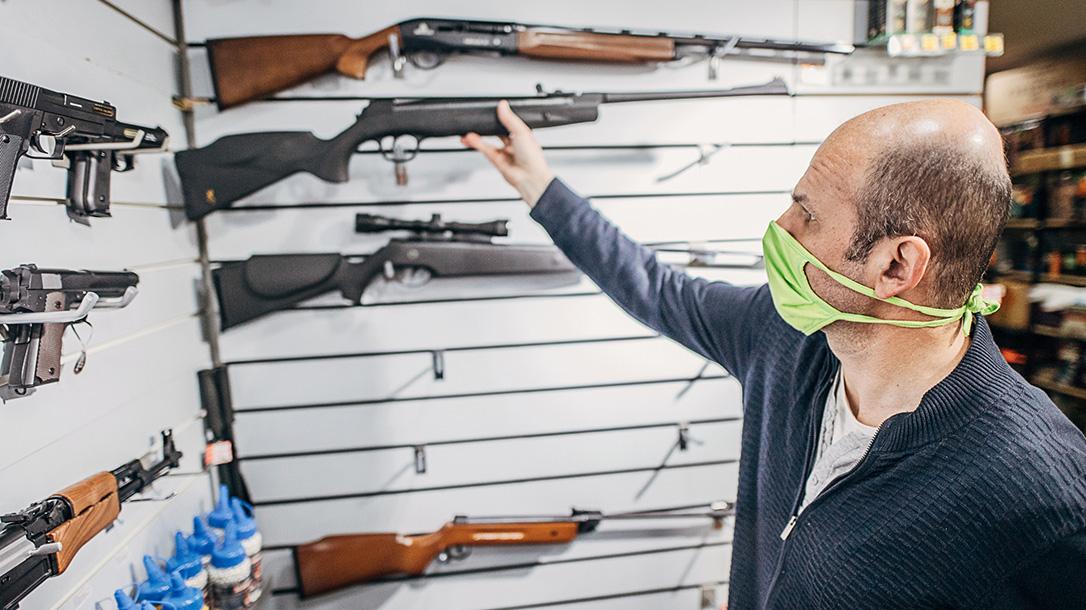 First-Time Gun Buyers COVID-19, coronavirus gun buying
