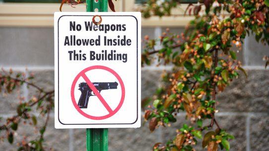 A new Virginia law allows local cities to establish gun-free zones.