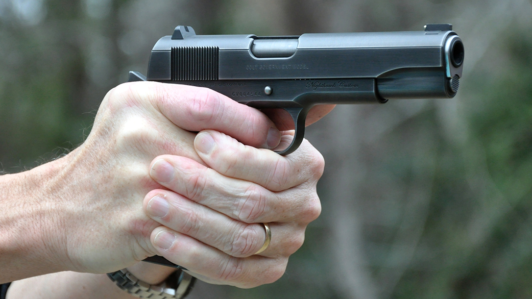 The Nighthawk Colt Series 70 proved extremely accurate during testing.