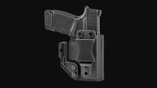 The N8 KO-1 holster adjusts for both ride height and cant.