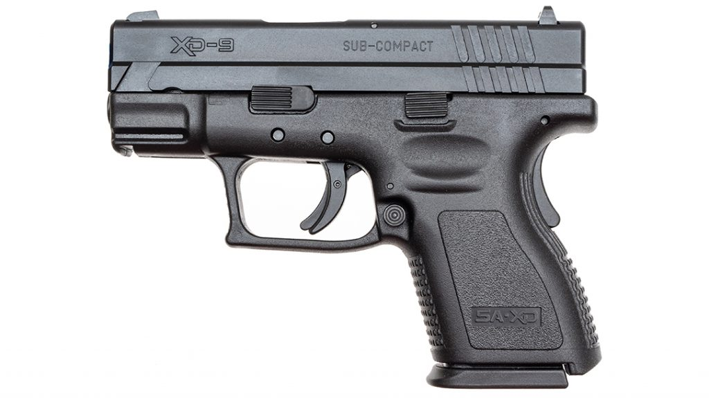 """The Springfield XD 3"""" Sub-Compact proved to be the most affordable of the group."""