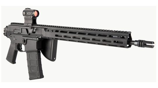 New self-contained BRN-180 uppers provide a great opportunity to build a folding rifle.
