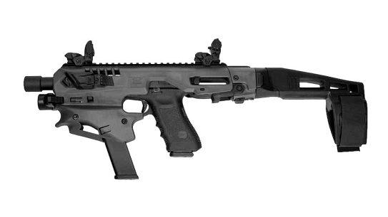 The CAA MCK pistol kit turns semi-auto pistols into PCCs.