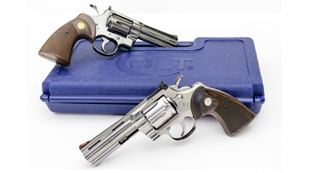 The new Colt Python 357 compared favorably the classic model from the 70s.