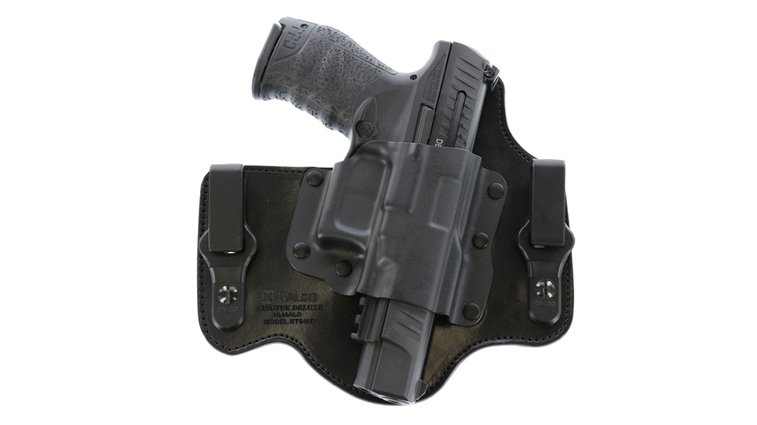 Galco released KingTuk release fits for Walther PPQ pistols.