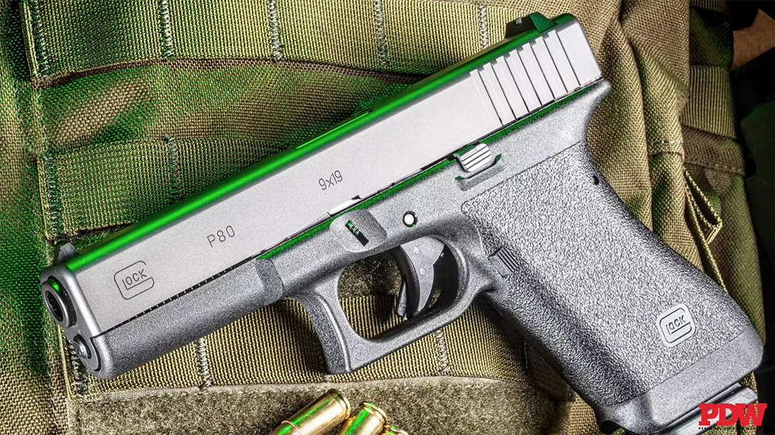 Glock P80, Glock 17 Gen 1, honors the pistol that started it all with the return of the P80.