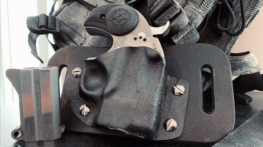 The versatile Kinetic Concealment holster system now fits the Bond Arms Rowdy.