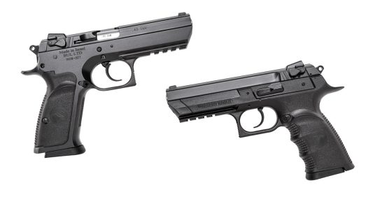 With both full-size and semi-compact variants, on either a steel or polymer frame, the new Magnum Research Baby Eagle III delivers versatility in 9mm, .45 ACP and .40 S&W.