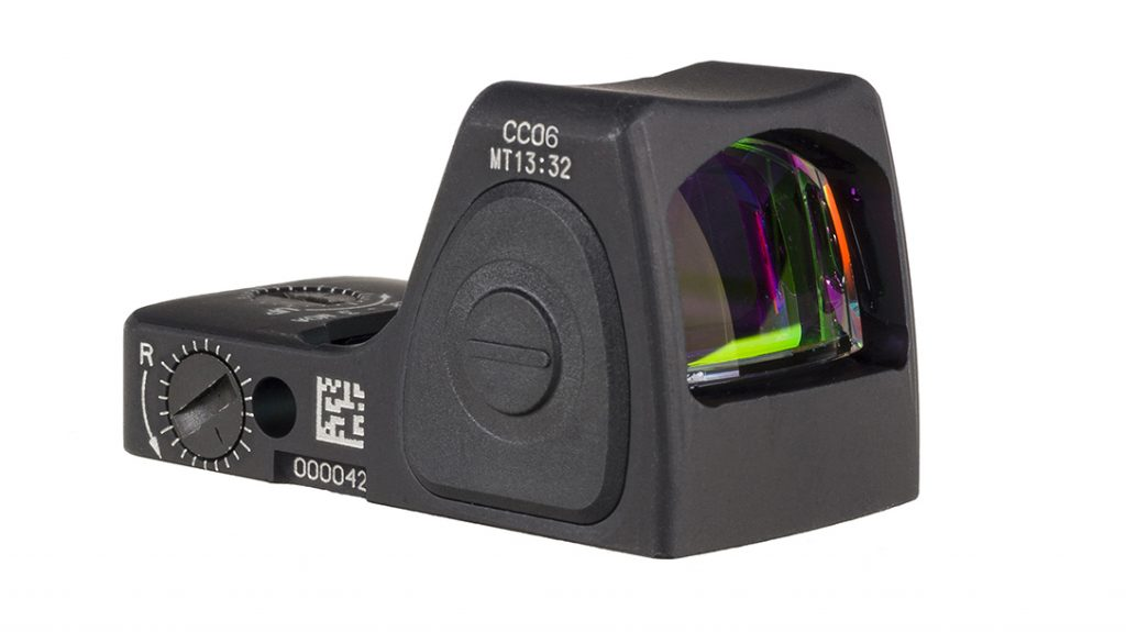 The smaller profile of the RMRcc makes it perfect for single stacks and subcompact pistols.