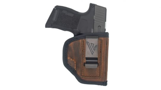 Lightweight and with a low-profile design, the Versacarry Ranger IWB excels in concealed carry.