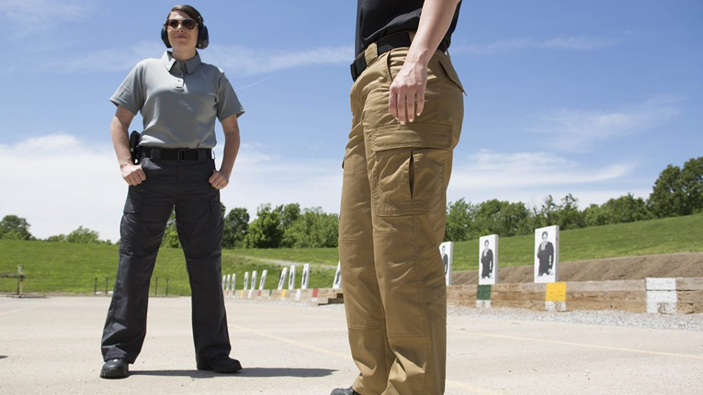 Proper Kinetic pants remain cool for a day on the range.