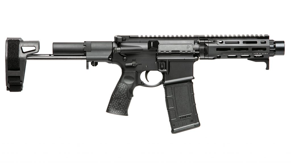 The stock design enables the DDM4 PDW to be extremely compact.
