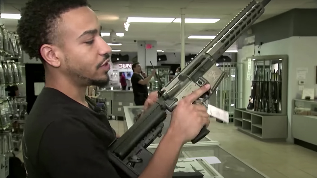 The Biden-Harris campaign continues to drive gun sales across the U.S.