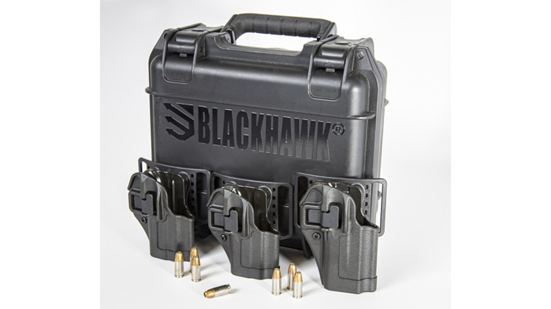 The Blackhawk SERPA CQC holster now fits several new subcompact semi-autos.