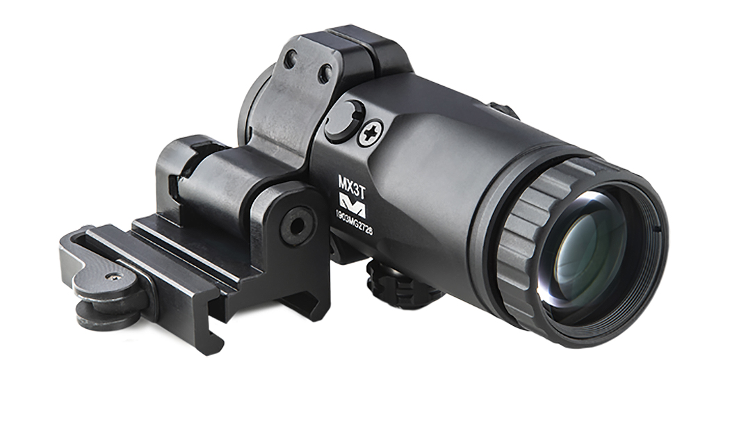 Meprolight MX3 3X magnifiers provide near-instant magnification.