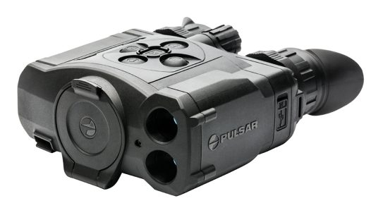 At nearly $7,000, the Pulsar Accolade 2 LRF is a serious thermal binocular.