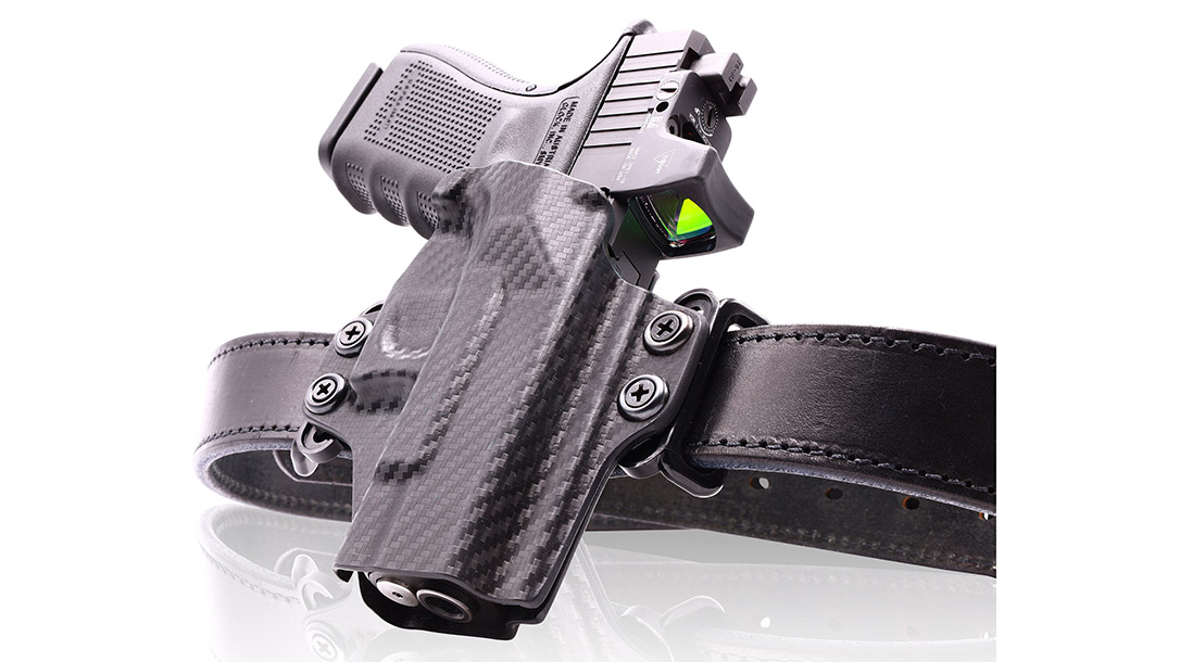 The OWB Belt Loop Holster works for multiple types of carry.
