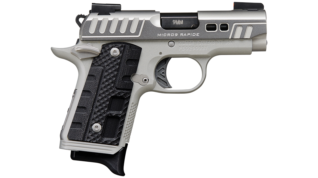 The Mirco 9 version of the popular Rapide Black Ice platform gives concealed carriers a distinctive package.