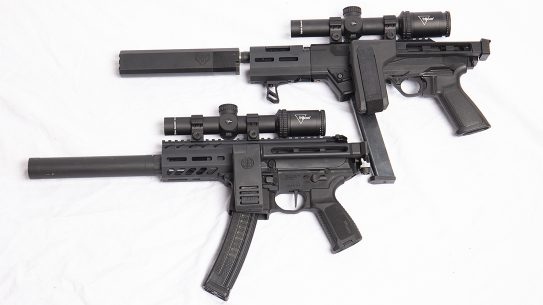 Our latest showdown features the SIG MPX K versus the Ruger PC Charger.