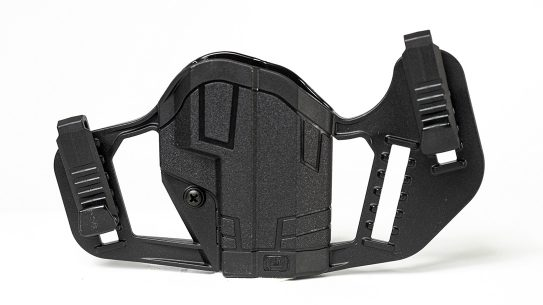 The dual-designed Uncle Mike's Apparition converts between IWB and OWB carry.
