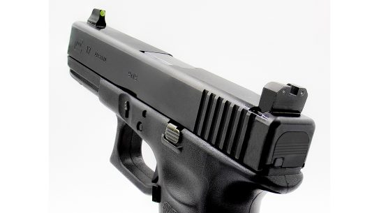 XS R3D Night Sights come in suppressor heights to fit Glock pistols.