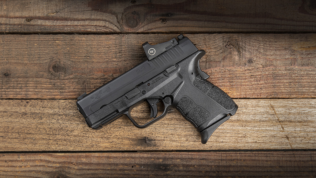 The new Springfield XDS OSP comes optics-ready.