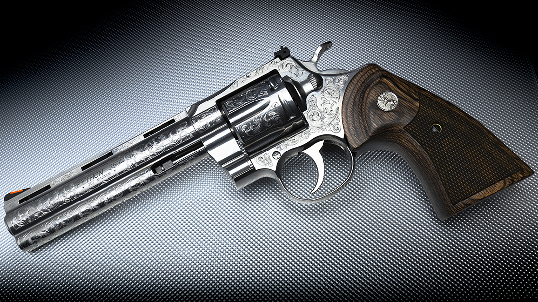 Davidson's Colt Python revolver