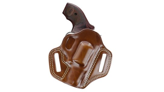 """The Galco Combat Master holster now fits the Kimber K6S 2"""" revolver."""