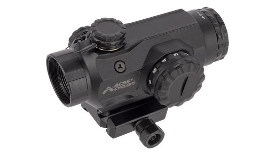 The Primary Arms SLx 1X Prism optic now comes with a green-illuminated reticle.