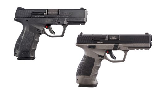 The optics-ready and Compact models join the SAR9 Pistol line.