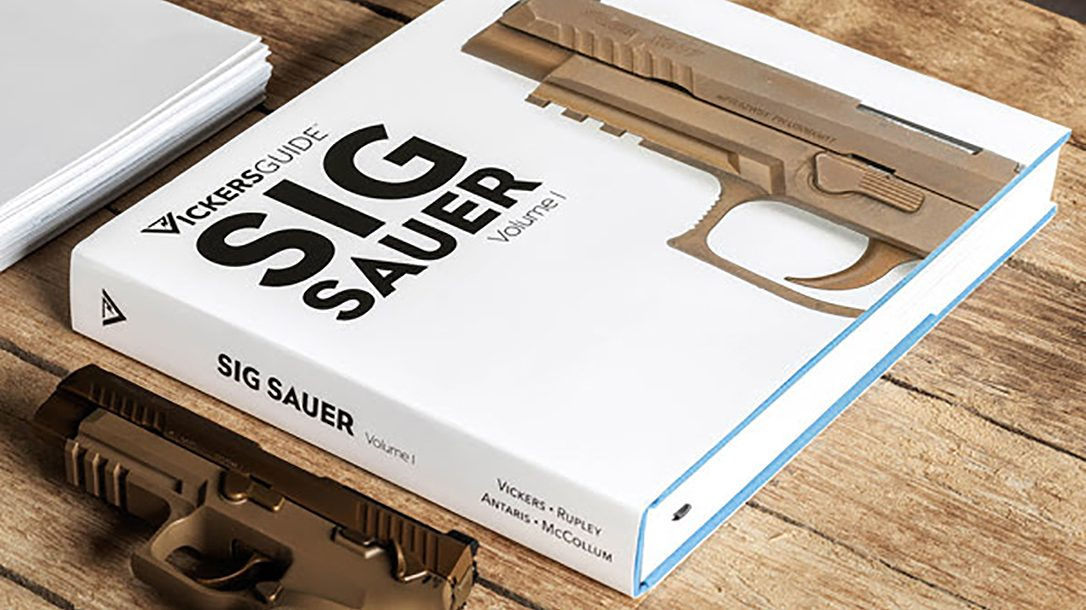 The Vickers Guide: SIG Sauer, Volume 1, features pistols and submachine guns.